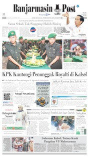 Banjarmasin Post Cover 19 July 2019