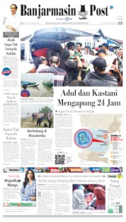 Banjarmasin Post Cover 20 July 2019