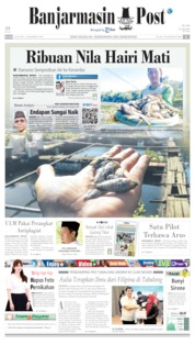 Cover Banjarmasin Post 23 Juli 2019