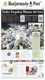 Banjarmasin Post Cover 04 August 2019