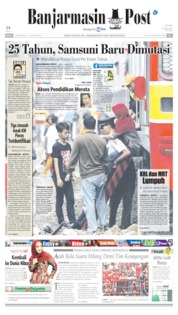 Banjarmasin Post Cover 05 August 2019