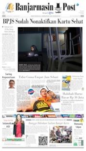 Banjarmasin Post Cover 06 August 2019