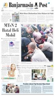 Banjarmasin Post Cover 07 August 2019