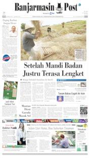 Banjarmasin Post Cover 08 August 2019