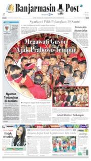 Cover Banjarmasin Post 09 Agustus 2019