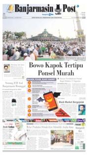 Cover Banjarmasin Post 12 Agustus 2019