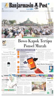 Banjarmasin Post Cover 12 August 2019