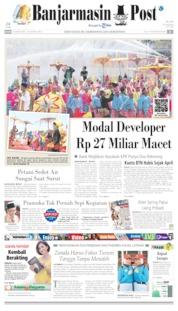 Cover Banjarmasin Post 15 Agustus 2019