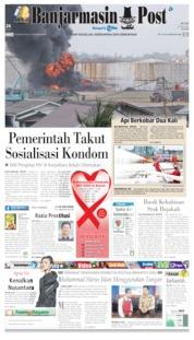 Cover Banjarmasin Post 16 Agustus 2019