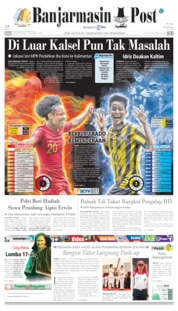 Banjarmasin Post Cover 17 August 2019
