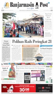 Banjarmasin Post Cover 18 August 2019
