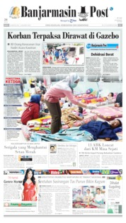 Banjarmasin Post Cover 19 August 2019