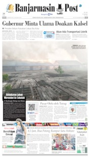 Banjarmasin Post Cover 23 August 2019