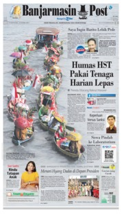 Banjarmasin Post Cover 24 August 2019