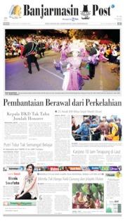 Cover Banjarmasin Post 25 Agustus 2019