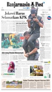 Cover Banjarmasin Post 08 September 2019