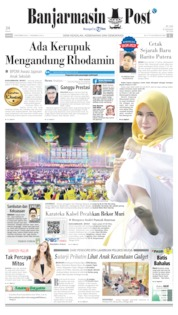 Cover Banjarmasin Post 09 September 2019