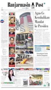 Banjarmasin Post Cover 14 September 2019
