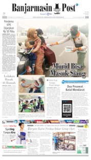 Banjarmasin Post Cover 15 September 2019