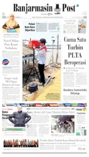 Banjarmasin Post Cover 17 September 2019