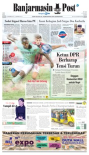 Banjarmasin Post Cover 21 September 2019