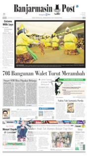 Banjarmasin Post Cover 23 September 2019