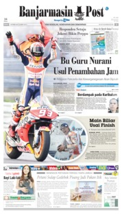 Banjarmasin Post Cover 07 October 2019