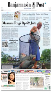 Banjarmasin Post Cover 08 October 2019