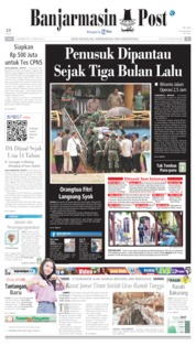 Banjarmasin Post Cover 11 October 2019