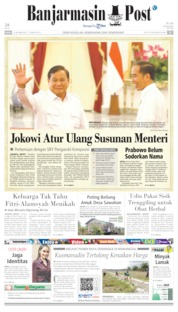 Banjarmasin Post Cover 12 October 2019