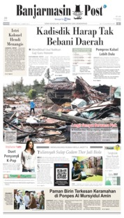Banjarmasin Post Cover 13 October 2019
