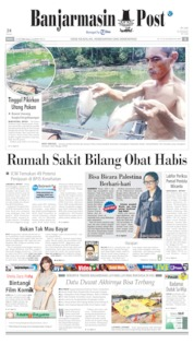 Banjarmasin Post Cover 14 October 2019