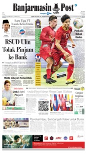 Cover Banjarmasin Post 15 Oktober 2019