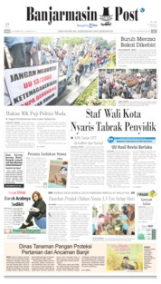 Banjarmasin Post Cover 17 October 2019