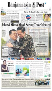 Banjarmasin Post Cover 19 October 2019