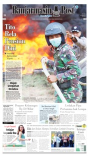 Cover Banjarmasin Post 23 Oktober 2019