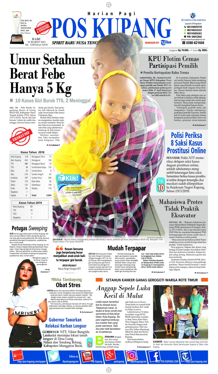Pos Kupang Digital Newspaper 20 March 2019