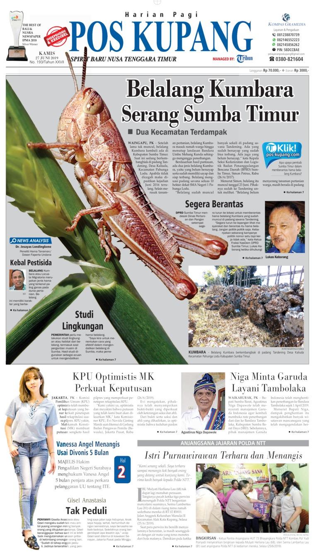 Koran Digital Pos Kupang 27 Juni 2019