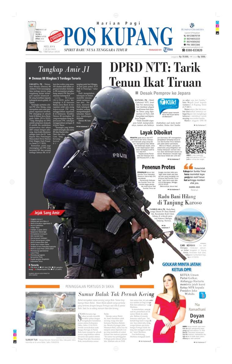Koran Digital Pos Kupang 02 Juli 2019