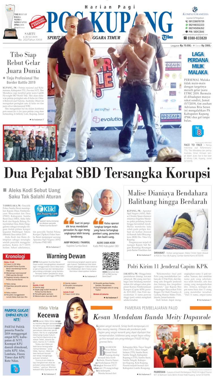 Koran Digital Pos Kupang 06 Juli 2019