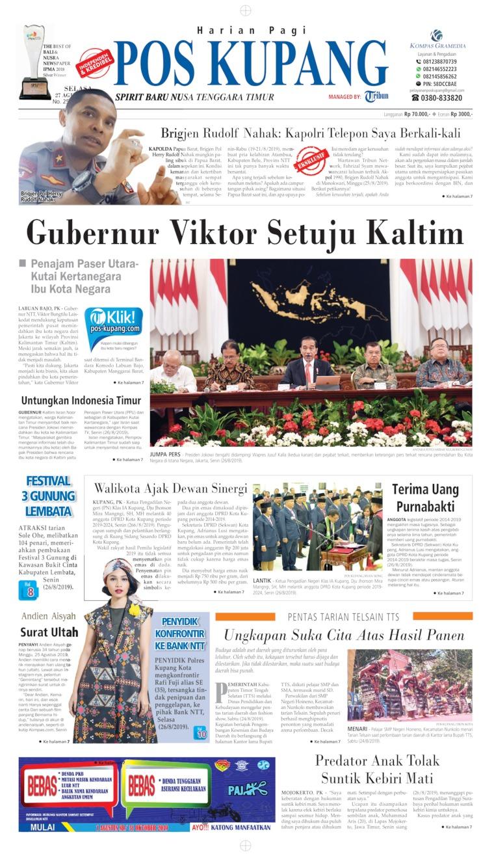Koran Digital Pos Kupang 27 Agustus 2019