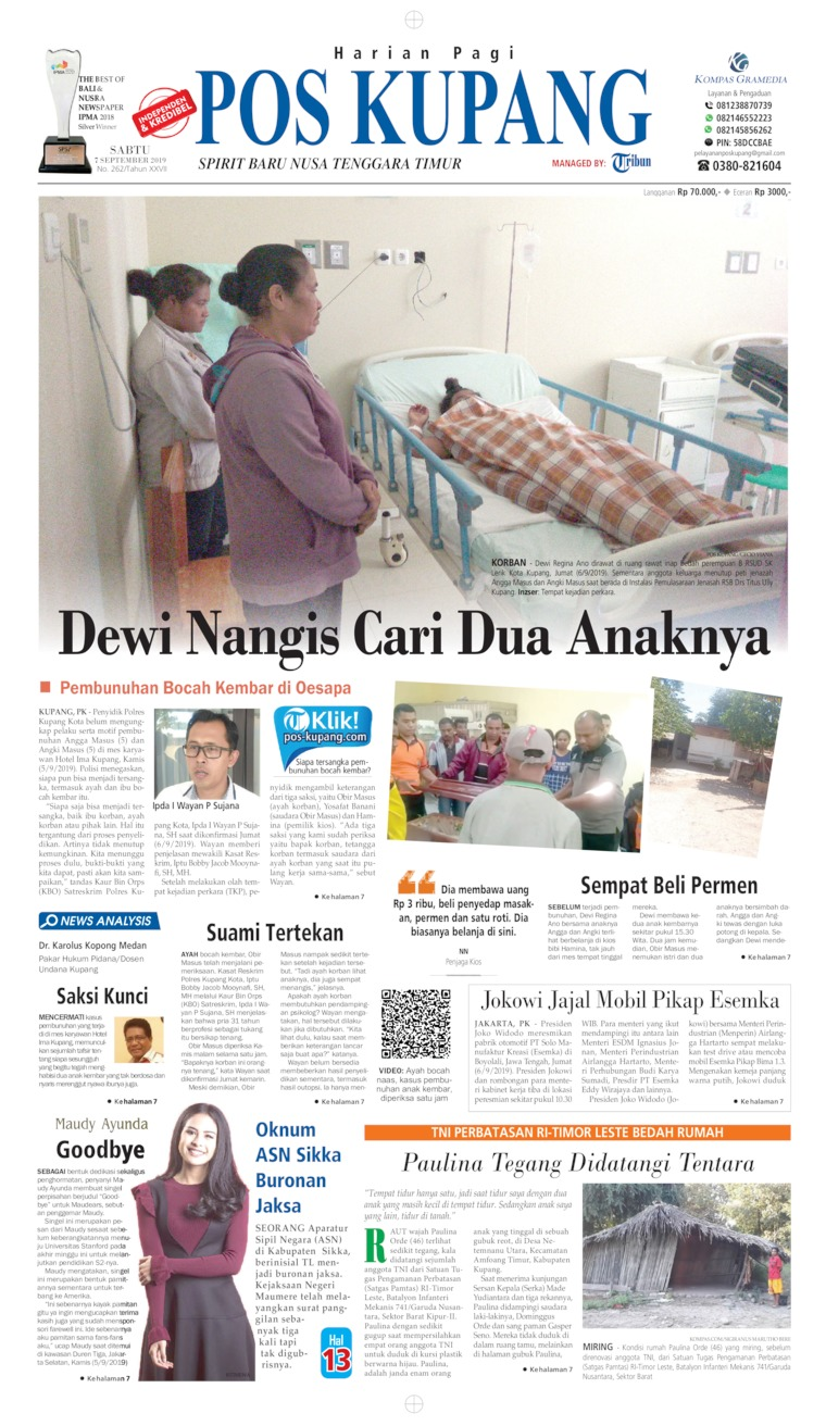 Koran Digital Pos Kupang 07 September 2019