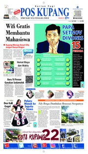 Cover Pos Kupang 25 April 2018