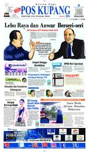 Cover Pos Kupang 23 Mei 2018