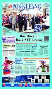 Cover Pos Kupang 26 Mei 2018