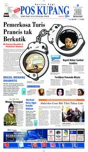 Cover Pos Kupang 23 Juni 2018