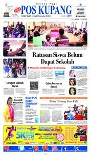 Cover Pos Kupang 17 Juli 2018