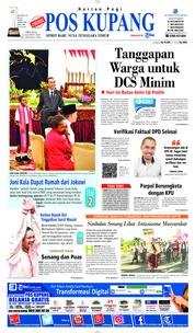 Cover Pos Kupang 21 Agustus 2018
