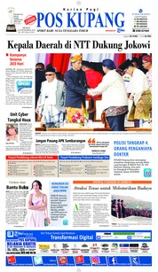 Cover Pos Kupang 24 September 2018