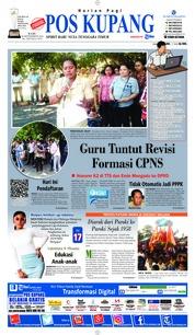 Cover Pos Kupang 26 September 2018